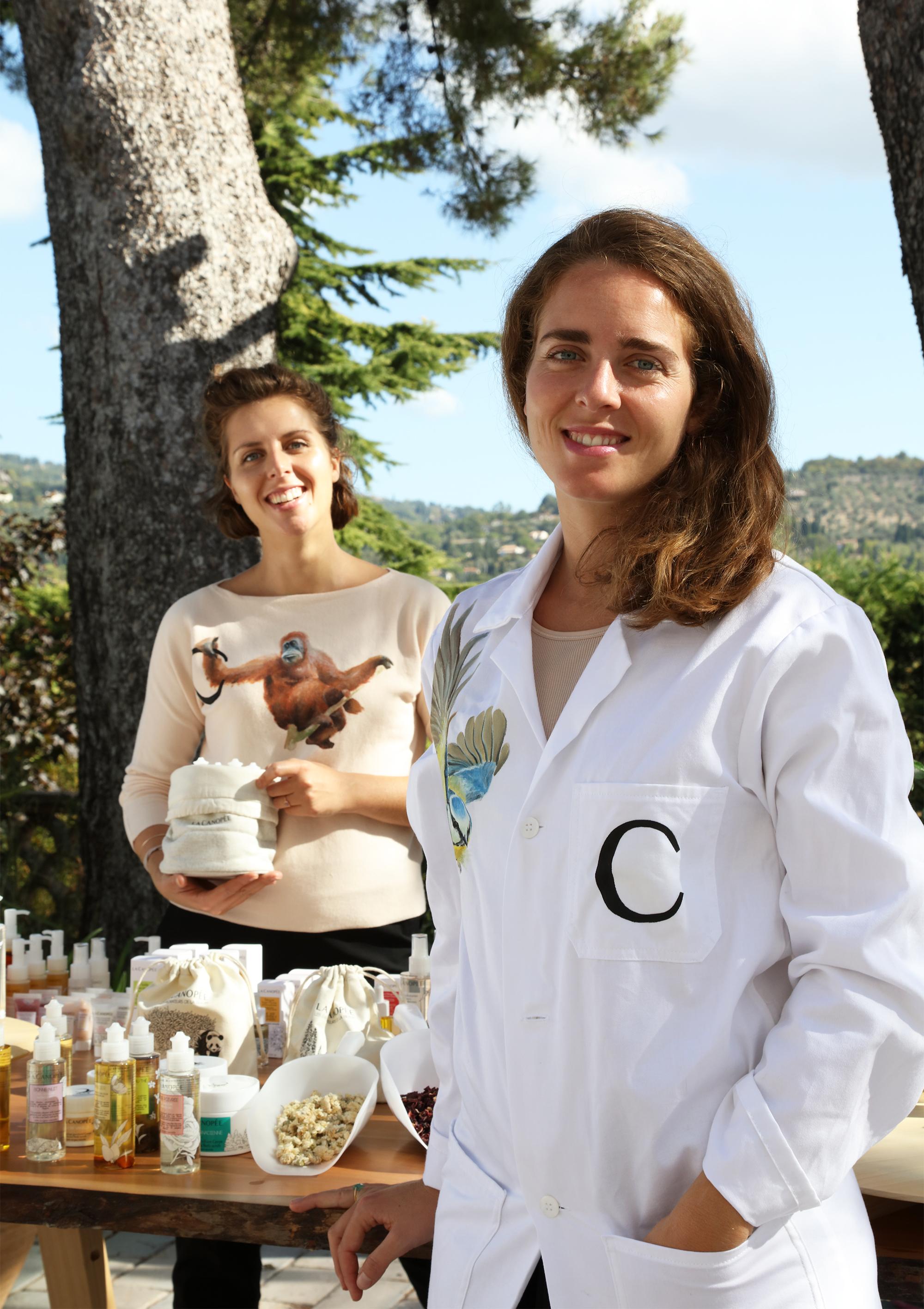 Cécile and Juliette - Founder La Canopée